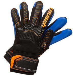 Reusch Attrakt Freegel S1 Finger Support Torwarthandschuh Kinder Kinder schwarz / orange 8