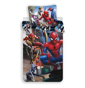 Spiderman Marvel - Kinder Jugend Bettwäsche Set 135 140 x 200 Baumwolle Jungen