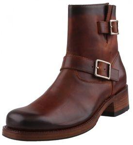 Sendra Herren Stiefel 12200 Braun, Schuhgröße:EUR 42