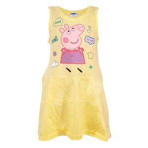 Peppa Wutz Pig Sommerkleid Kleid Gelb Größe 116