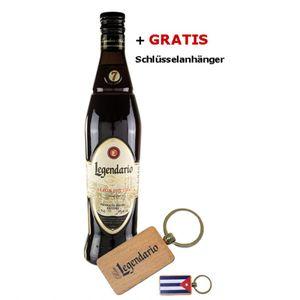 Rum LEGENDARIO + Schlüsselanhänger - Geschenk-Set
