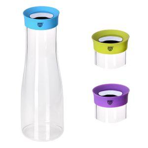 GRÄWE Glaskaraffe 1 Liter, BLAU