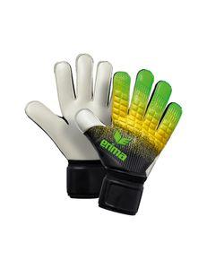 erima Flexinator New Talent Torwarthandschuhe green/black/yellow 7.5