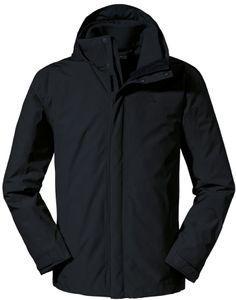 Schöffel Turin1 3in1 Jacke Herren black Größe DE 54   XL