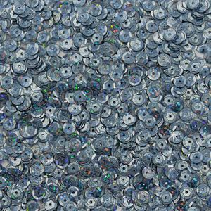 Oblique Unique 1400 Pailletten Konfetti gewölbt - ice blue Glitzereffekt