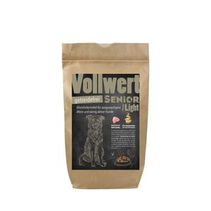 DOGREFORM VOLLWERT Senior/Light - getreidefrei für den älteren Hund 6,0 kg