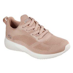 Skechers BOBS Damen Sneaker SQUAD TOUGH TALK Rosa, Schuhgröße:EUR 39