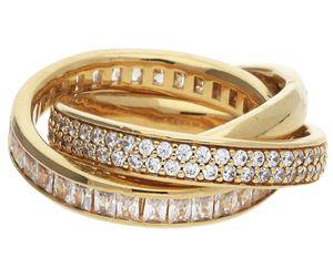 Esprit ESRG02258B/17 Frauen Ring Tridelia
