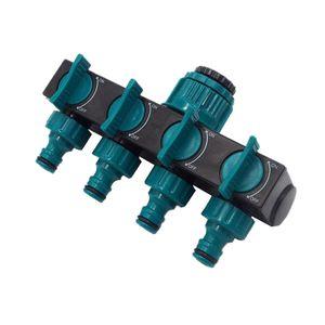 Gartenschlauchverteiler 4-Wege-Kunststoffhahnschlauchanschlš¹sse Wasserverteiler
