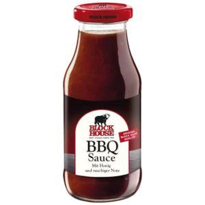 Block House fine BBQ Sauce mit Honig und Hickory Rauch 240ml
