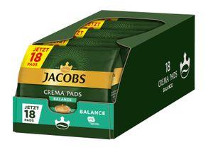 JACOBS Pads Crema Balance 5 x 18 Getränke - 90 Kaffeepads Senseo kompatibel
