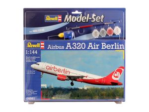 Revell Model Set Airbus A320 AirBerl - Flugzeug-Modellbausatz; 64861