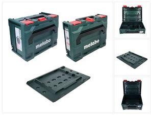 Metabo metaBOX 118 Werkzeugkoffer ( 626885000 ) + metaBOX 215 ( 626887000 ) + metaBOX Adapterplatte ( 626895000 )