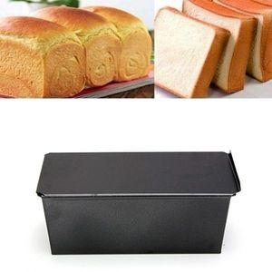 2 x Brotbackform Kuchenform mit Deckel für Kuchen und Brot