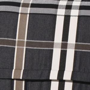 Madison 232011 Nils Stapelsesselpolster (niedrig) ; Farbe: Grau/Braun/Weiß ; Maße (LxB): 100 cm  x 50 cm