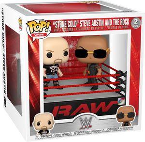 "WWE - ""Stone Cold"" Steve Austin and The Rock  2 Pack - Funko Pop! - Vinyl Figur"