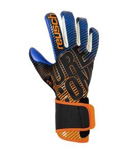 Reusch Pure Contact 3 G3 Gtx Infinium™ - black / shocking orange / deep blue, Größe:10