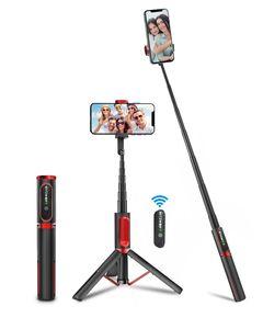 BlitzWolf BW-BS10 Tragbarer bluetooth Selfie Stick mit versenkbarem Stativ
