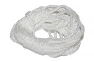 dalipo – Kordeln / Schnur 4mm, Meterware, 5m  weiß