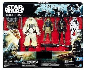 Hasbro Star Wars Rogue One Rebel Commando Pao Moroff Set