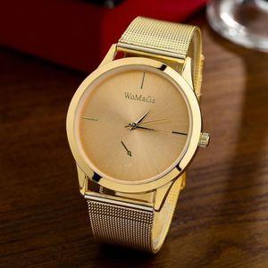 Weibliche Uhren Frauen Luxus Quarzuhr Edelstahl Kleid Uhren Weihnachtsgeschenk Dame Uhren Eleganz Armbanduhren,gold