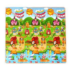 200*180cm Meco Kinder Krabbelmatte Spielmatte Babymatte Krabbeldecke Faltbar Teppich Gaming Mat