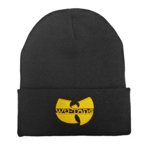 Herrenmš¹tze Warm Fashion Cap Hip-Hop Baumwolle Ski Outdoor Bboy Dance Wu-Tang BLK