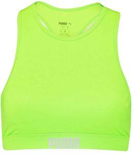 PUMA SWIM WOMEN RACERBACK SWIM TOP neon green M