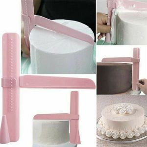 Melario Backwerkzeug Kuchen Glätter Spatel Ganache Tortenglätter Fondant Tortendeko