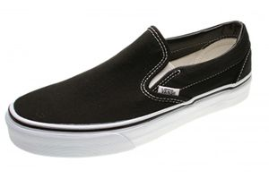 VANS Classic Slip On Sneaker Skate Schuhe Klassiker , Schuhgröße:EUR 43, Farbe:Schwarz
