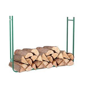 Metall Kaminholzregal Stapelhilfe Brennholzregal Holzständer Ablage Brennholz