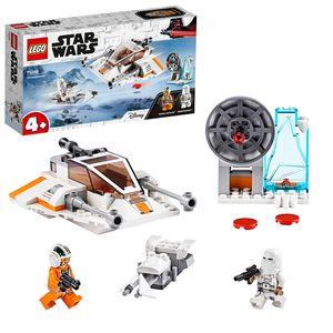 LEGO 75268 Star Wars Snowspeeder, Verteidigungsstation und Speeder-Bike, Spielset mit Starter-Stein für Vorschulkinder ab 4 Jahren
