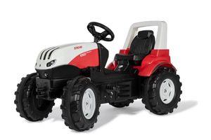 Rolly Toys steyr-Stufentraktor rot/schwarz 146 x 52,5 x 77 cm