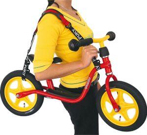 Puky TG Tragegurt für Laufräder schwarz/rot