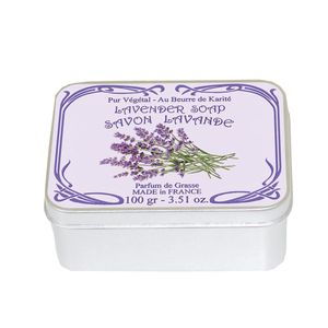 Le Blanc Naturseife Lavendel in Dose 100g