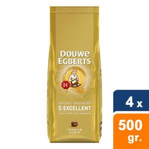 Douwe Egberts - Excellent Bohnen - 4x 500g