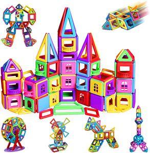 105 Teiliger Lernspielzeug Blocks Magnetic Building Magnetische Bausteine Blöcke Kinder Spielzeug Lernspielzeug Spiel Magnet Spielzeug