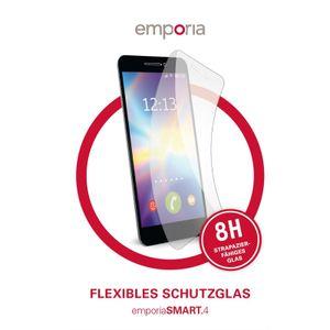 emporia Flexi Schutzglas für das Smart.4, Farbe:Schutzglas
