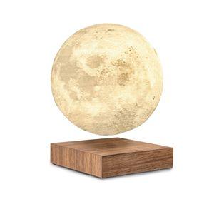 Gingko smart Moon Lamp Kugelleuchte mit Podest - in verschiedenen Farben, Farbe:Walnuss