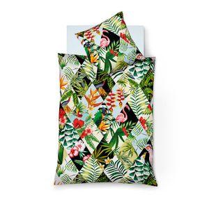 Fleuresse: Bettwäsche DSCHUNGEL flamingo 155x220 cm (BEDART S 113719 FB:5 155X220CM)