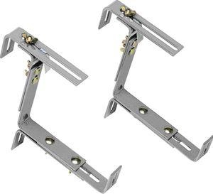 Emsa Vario Blumenkastenhalter, Aluminium, 506710