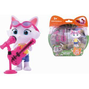 44 CATS Spielfigur Milady + Bassgitarre