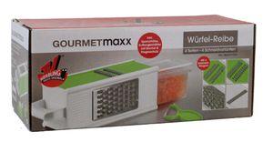 Gourmetmaxx Würfelreibe mit 4 Seiten aus der TV Werbung
