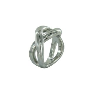 Fossil Damen Edelstahl Ring JF87289040, Ringgröße:56 (17.8 mm Ø)