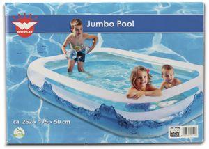 Wehncke Jumbo Pool Water Wave, 262x175x50 cm
