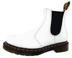 Dr. Martens 2976YS Damen Chelsea Boot in Weiß, Größe 40