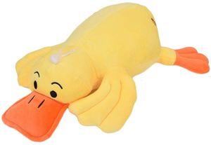 Große gelbe Ente Spielzeug Plüschtier schöne Ente Form Kurze Plüsch Stofftier Hause Auto Dekoration Ornament Kinder 40cm
