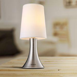 Monzana Tischlampe Tischleuchte Design Nachttischlampe Wohnzimmerlampe Leuchte Lampe Cahaya