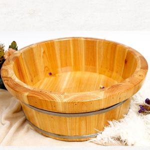 Zedernholz Füße Barrel Einweichen Badewanne Tiefe Pediküre Fuß Becken Soaker