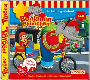 Benjamin Blümchen - Folge 148: als Rettungselefant - CD